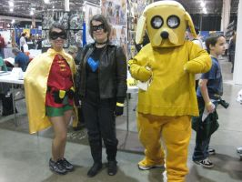 Jake and Super heroes by LotusOfTheLeaf