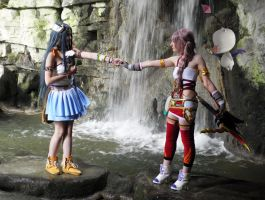 Serah and Yeul's journey by memoire-hana