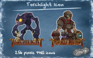 Torchlight dock icon by nuteduard