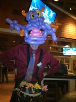 Figment the Dragon Hat by NoOrdinaryBalloonMan