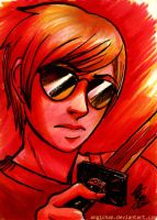 Dave Strider by angichan