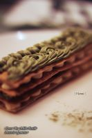 Green Tea Mille-Feuille by viennidemizerable
