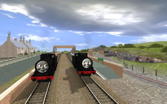 Donald and Douglas are twins... by MarcoE424