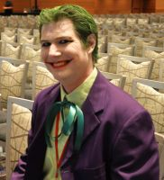 Phoenix Comicon 2011 Joker by Recycledhero