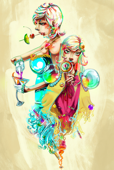 Candy and Alcohol by macabre7
