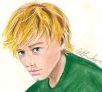 The Boy With The Bread by Marissa-Emily