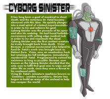 Cyborg Sinister: Impossible Odds by PaulOoshun