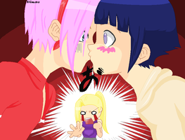 Sakuhina and ino- 8D by Shimara-chan