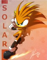 Solar the hedgehog by nancher