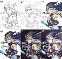Ashe (STEP BY STEP) by Hananon
