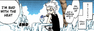 Toshiro doesn't like the heat by Sweekun