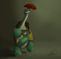 Oogway by Gnascor