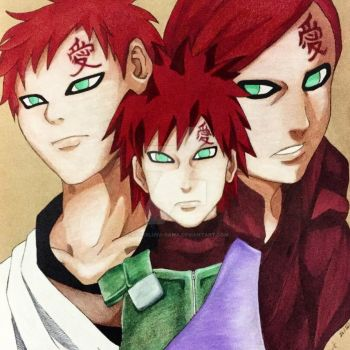 Gaara of the Sand by Sasukeluva-sama