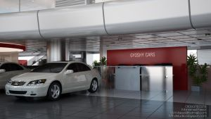 Gyoshy Cars Showroom by M-Fawzi