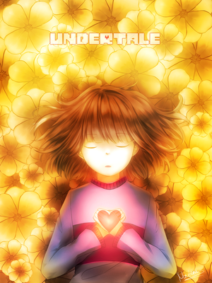 Undertale: Frisk + Speedpaint by neruteru