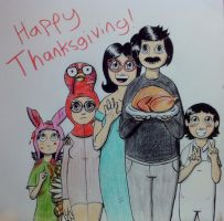 Happy Thanksgiving From the Belcher Family! by k-Liight