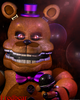 The Fredbear - Poster by GamesProduction