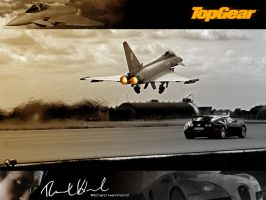 Top Gear Veyron Vs Eurofighter by BlaydeXi