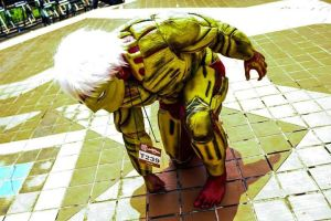 Armored Titan Cosplay by Ihsan555