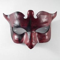 Colombina Leather Mask by Shadows-Ink