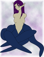 Armless Tentacle Girl by CassidyPeterson