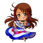 LAPH: Chibi Costa Rica by MariAle-art