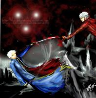 devil may cry 3 ending by thewhitefatalis