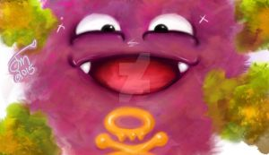 Cutie-Koffing by KILL3Rjessica