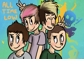 All Time Low (The BEST Band Ever) by fruitycutie