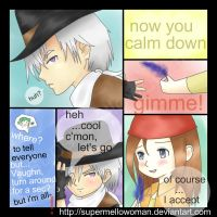 Harvest Moon IoH: Question Fin by supermellowoman