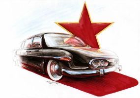 Tatra T603-2 - Iron Curtain by Medvezh