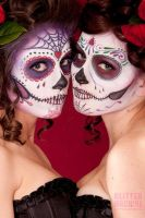 Sugar Skull Love by IsisNoir