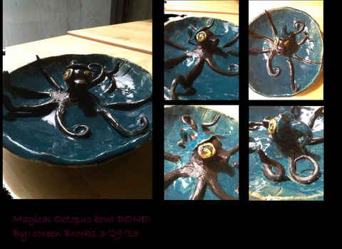 Magical Octopus bowl done by Cocopop6691