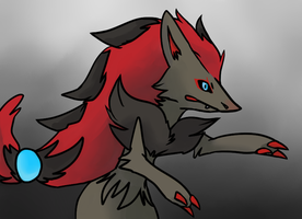 Day 2 - Favorite Dark Type: Zoroark by Dusk-Wind