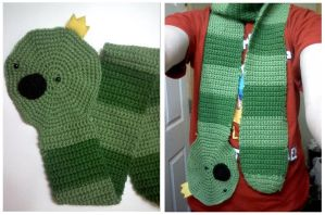 King Worm Scarf by hoity-toity-holiday