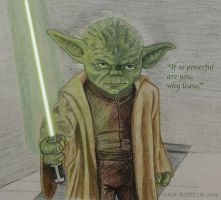 Yoda's challenge by SMH-REDELK