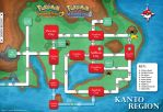 Pokemon Kanto Map HGSS by cow41087