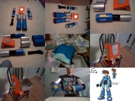 Megaman Volnutt Cosplay Indevelopment by GypZtheQuaker