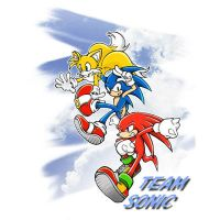 team sonic by Sonicx1661