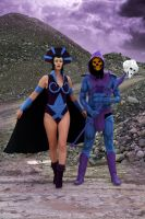 Skeletor . Evil Lyn - Masters Of The Universe by OrangeSwine