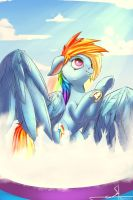 MLP 4 season 10 series. Rainbow Dash by 1Vladislav