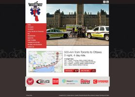 Canadian Paramedic Memorial Ride Website by ninninny