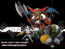 Shin Getter Armageddon by the-tracer