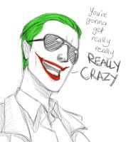 Jared Leto - Joker by pencilHead7