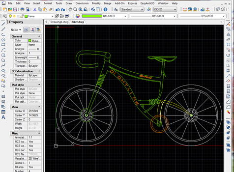 Bike WIP 2 by SlideSwitched