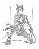 Cat Woman 2 by EryckWebbGraphics