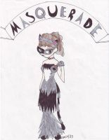 Masquerade: Cat by camio105
