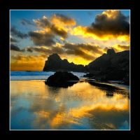 Kynance Cove, Lizard, Cornwall by midlander1231