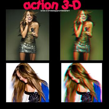 action 3-d by ohmileycyrus
