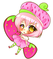 Unrelated Strawberry by princessmikan